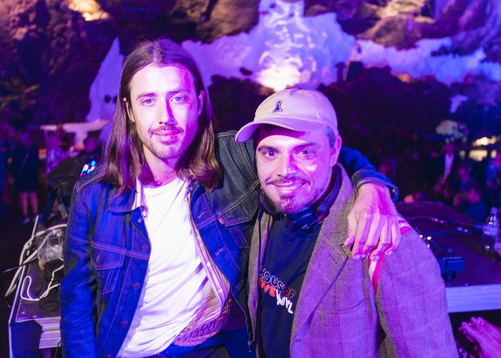 Pascal Moschei y Nacho Lacharre en Lanzarote Fashion Weekend