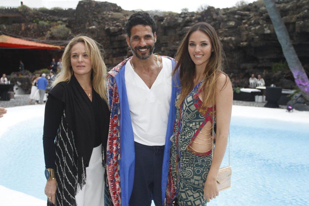 Helen Lindes, Oscar Higares en Lanzarote Fashion Weekend