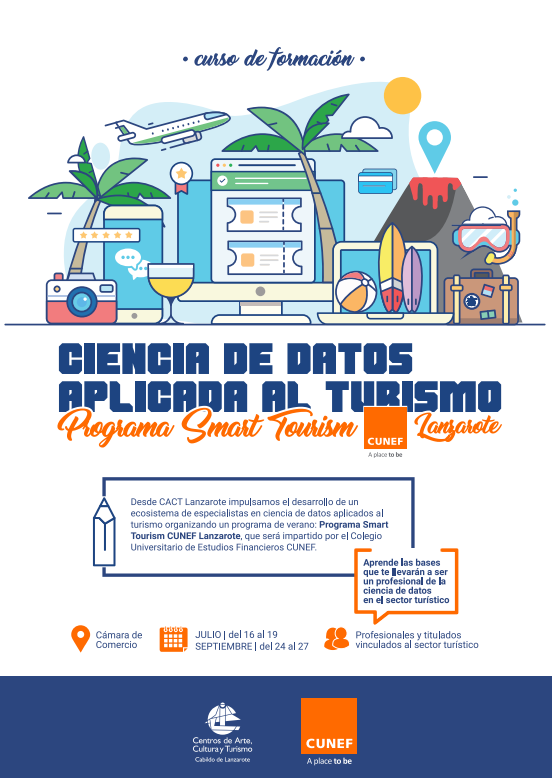 poster curso cunef smart tourism